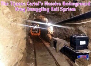 Mexico US Border Tunnel